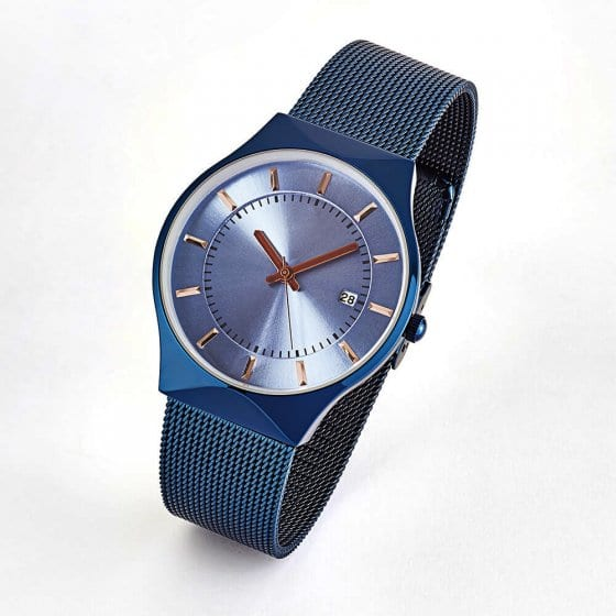 "Flache Armbanduhr ""Azzurro"""