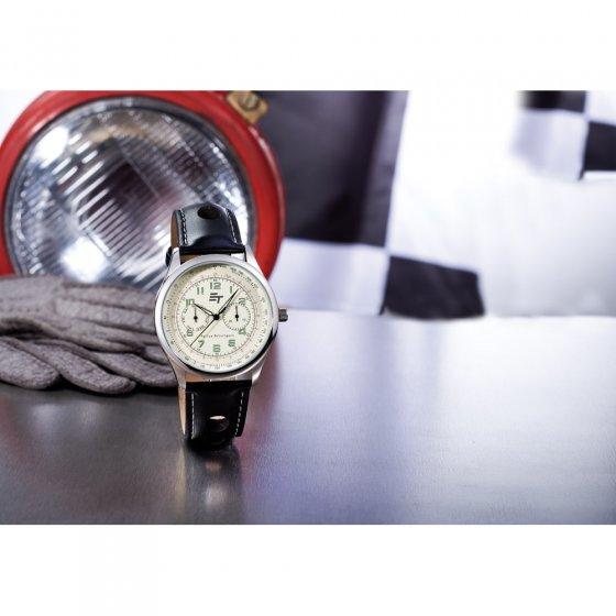 Ihr Geschenk: Sportive Rallye-Uhr
