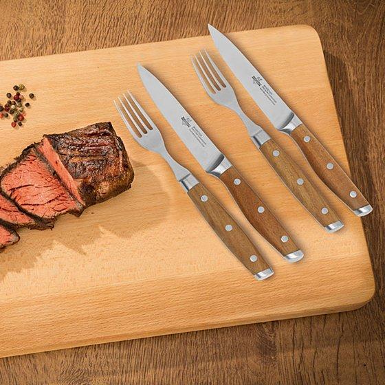 """Gourmet-Steakbesteck """"4 Musketeers"""""""