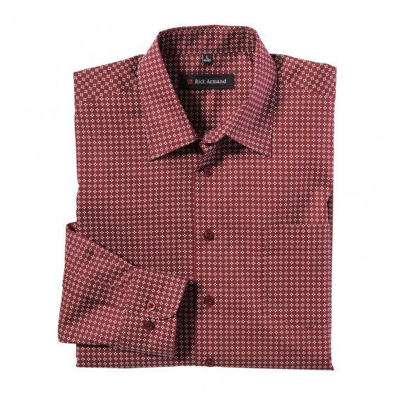 Freizeithemd mit Allover-Muster