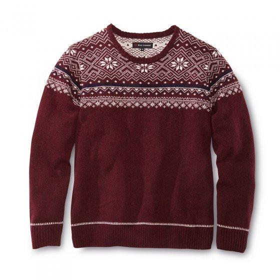 Norweger-Pullover aus Lambswool