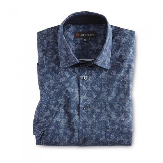 Aktuelles Freizeithemd,khaki-b XL | Khaki-bedruckt