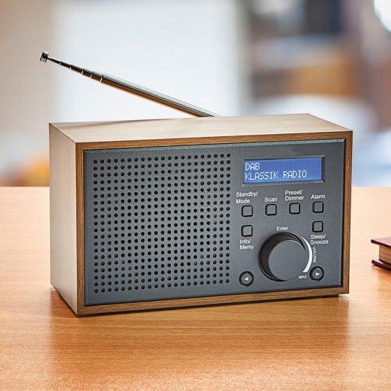 DAB+ Retro-Kompaktradio