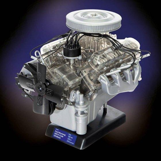 Bausatz Ford-Mustang-V8-Motor