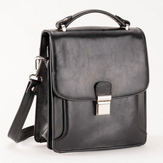 Rindsleder-Herrentasche mit RFID