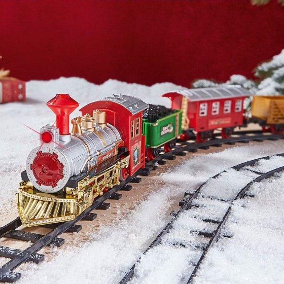 Stimmungsvoller Weihnachts-Express