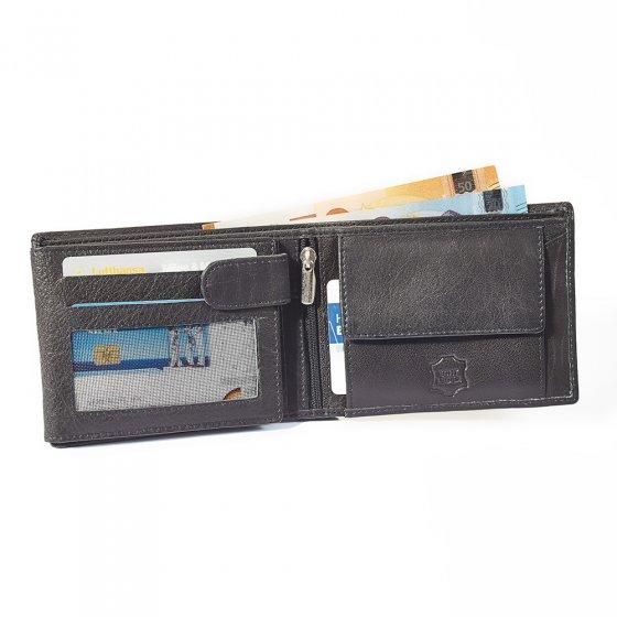 RFID Büffelleder-Geldbörse