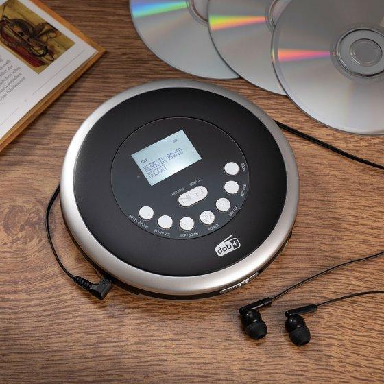 Tragbarer DAB+-/CD-Player