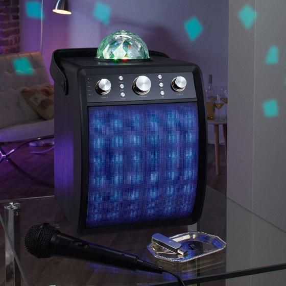 Party-Lautsprecher mit Disco-Licht