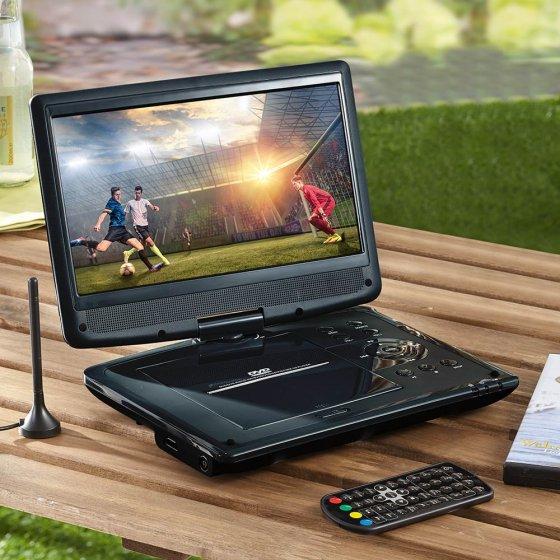 Mobiler DVD- und DVB-T2 Spieler