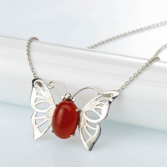 Schmetterling-Collier