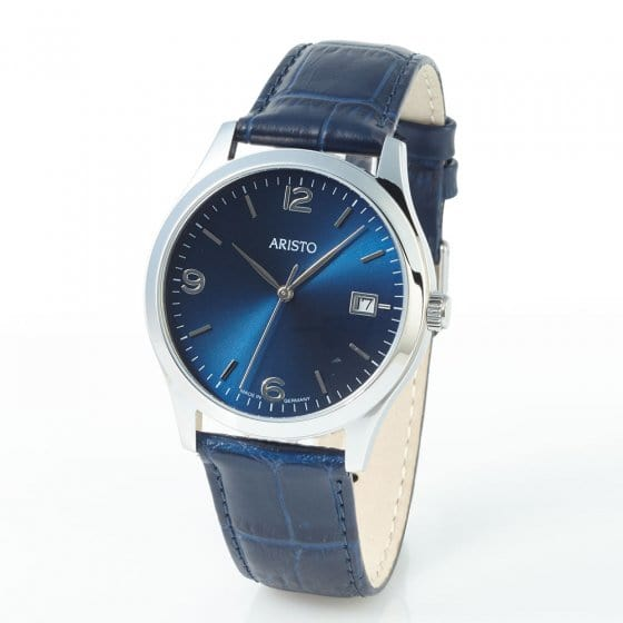 "Armbanduhr ""ARISTO BLUE RETRO"""