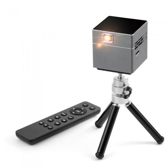 Mini-Projektor mit Stativ
