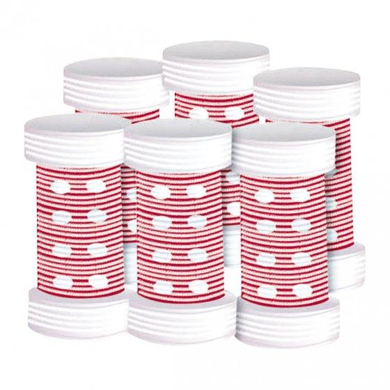 Keramik-Bürstenwickler 6er-Set