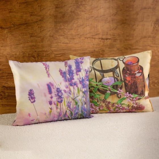Kräuterkissen und Lavendelkissen