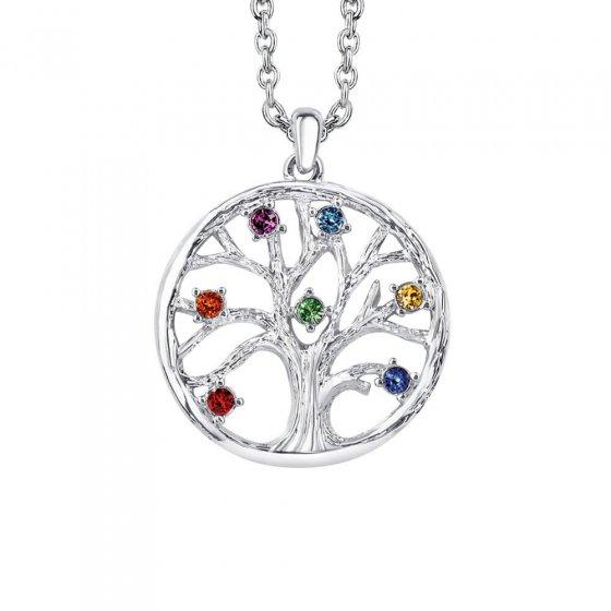 "Halskette ""Chakra-Baum des Lebens"""