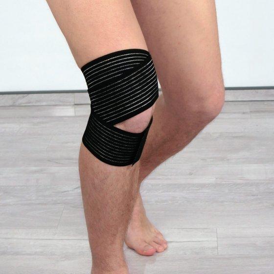 Kniebandage mit Anti-Rutsch-Beschichtung