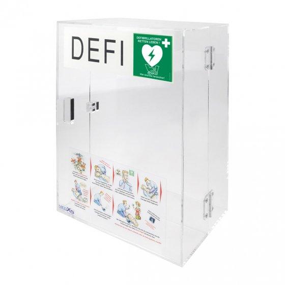 """Wandkasten für den Defibrillator """"SAM500P"""""""
