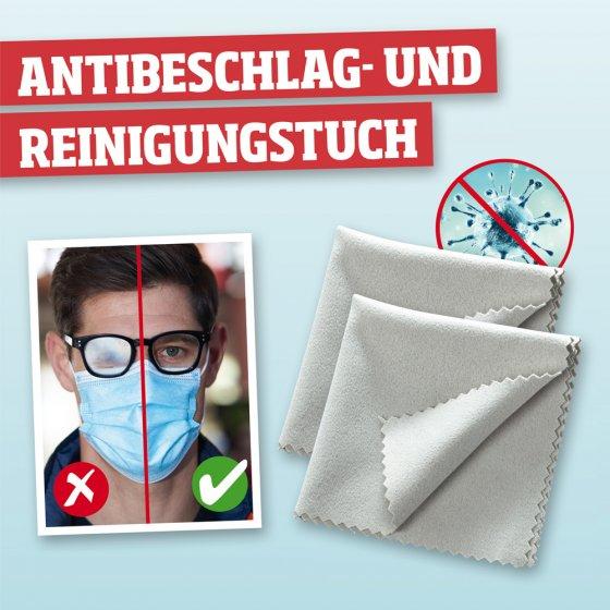Antibeschlag- und Reinigungstuch