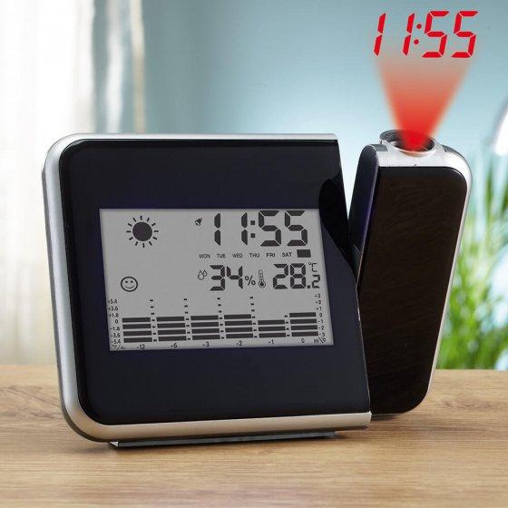 Ihr Geschenk: Wetterstation mit Projektionsuhr