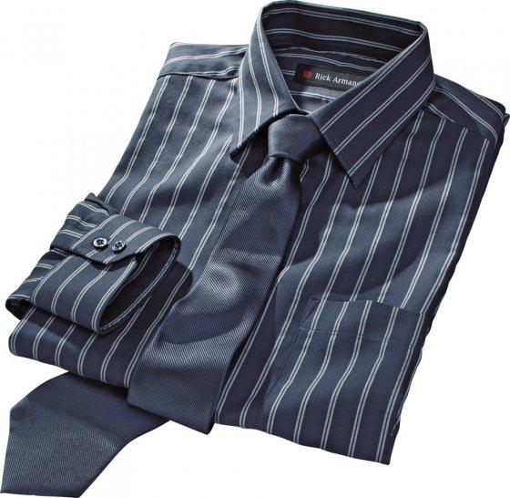 Hemd-Krawatten-Set