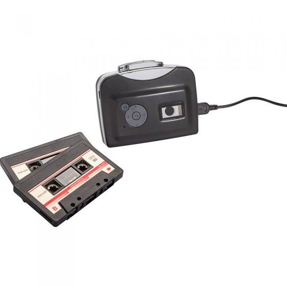 Portabler Kassettendigitalisierer