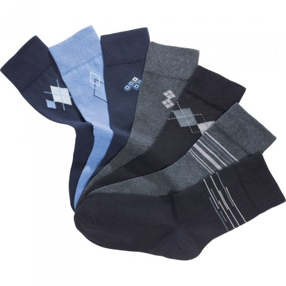 Stretch-Baumwoll-Socken - 7 Paar