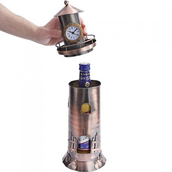 Leuchtturm-Flaschenhalter