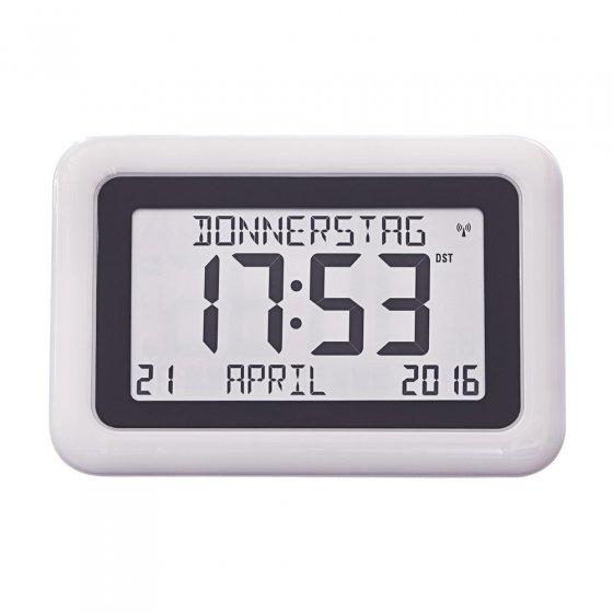 Große Kalender-Funkuhr