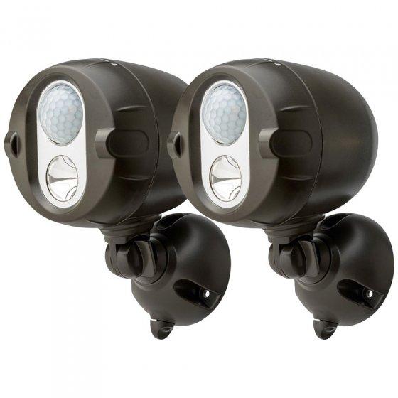 Funkvernetzte LED-Aussenstrahler 2er-Set