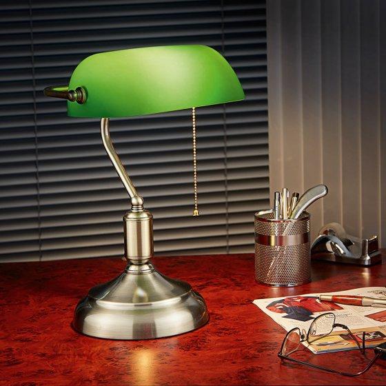 Bankiers-Lampe