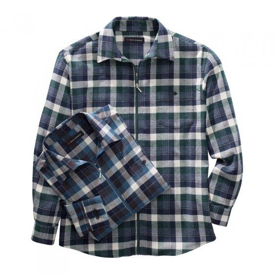 Flanellhemd mit Reißverschluss 2er Set
