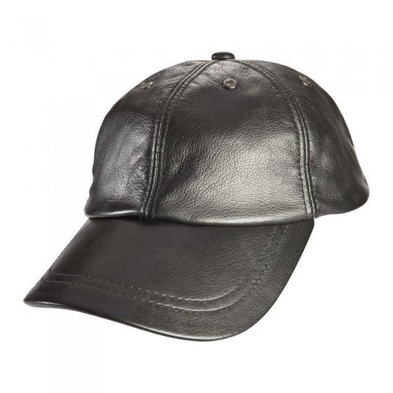 Amerikanische Kappe aus Rind-Nappa