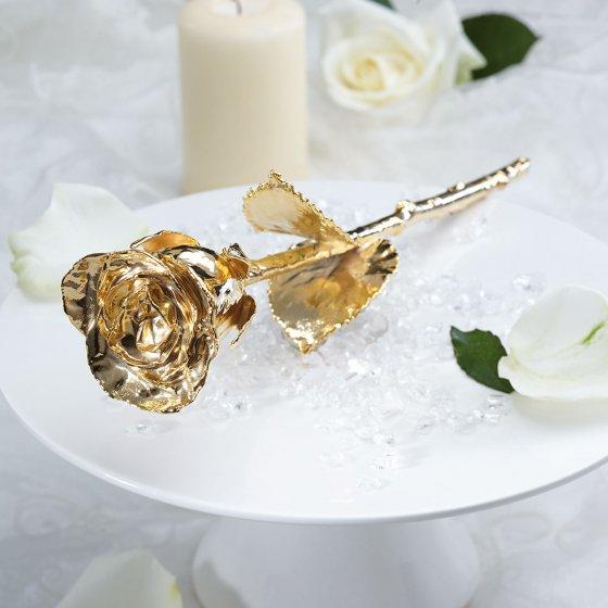 Vergoldete Rose