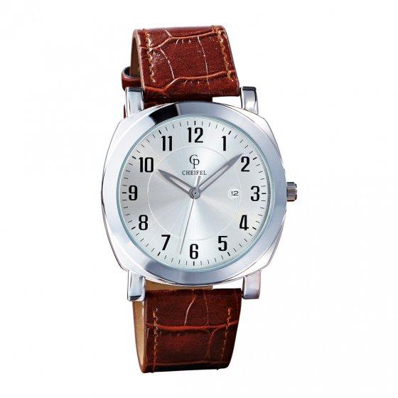 Ihr Geschenk: Ultraflache Armbanduhr