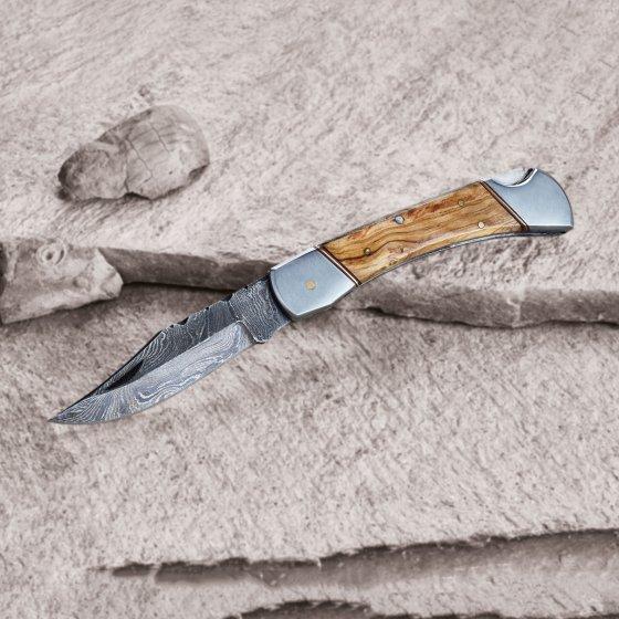 Damast-Taschenmesser
