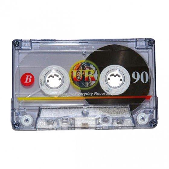 Audiokassetten 90min 5er-Pack
