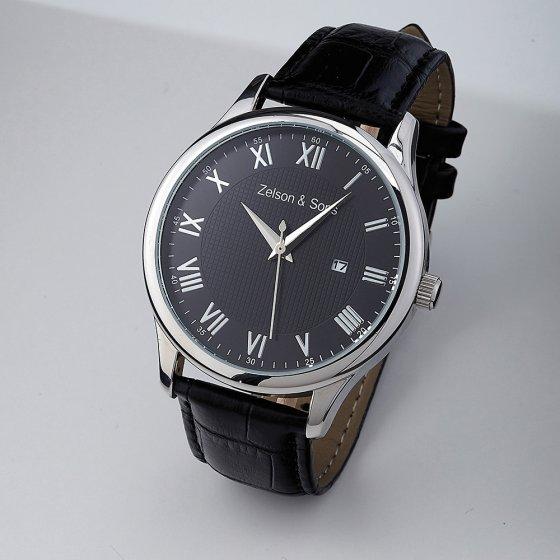Ihr Geschenk:  Zelson  &  Sons Designer-Uhr