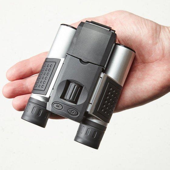 Kamera-Fernglas mit Bildschirm