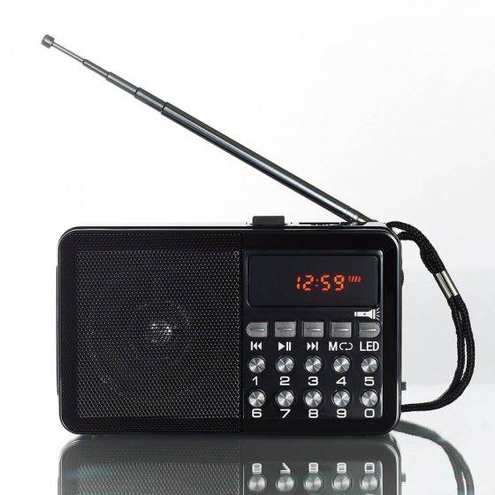 Ihr Geschenk: Multifunktionsradio mit Licht