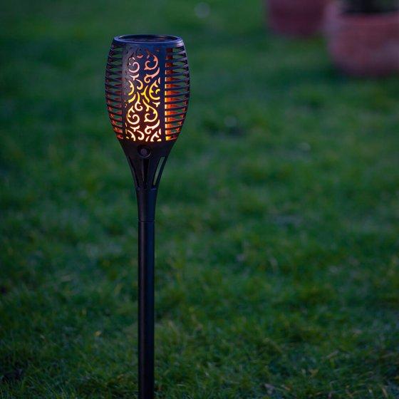 "Solar-Gartenfackel ""Flamme"""