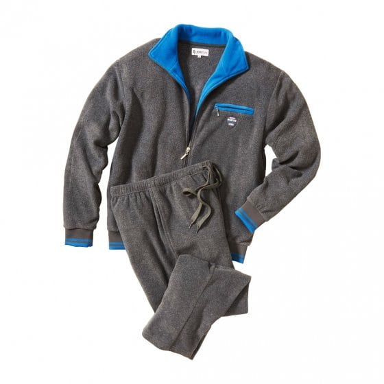 Thermo Fleece-Hausanzug, grau L | Grau