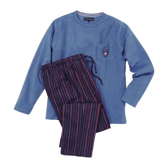 Herren-Baumwollschlafanzug