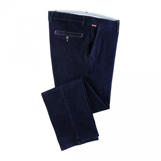 Bügelfrei Stretchjeans, blau 54 | Blau