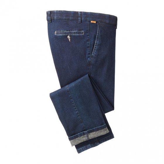 Jeans mit angerauter Innenseite