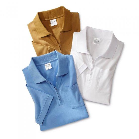 Jersey-Poloshirt 3er-Set