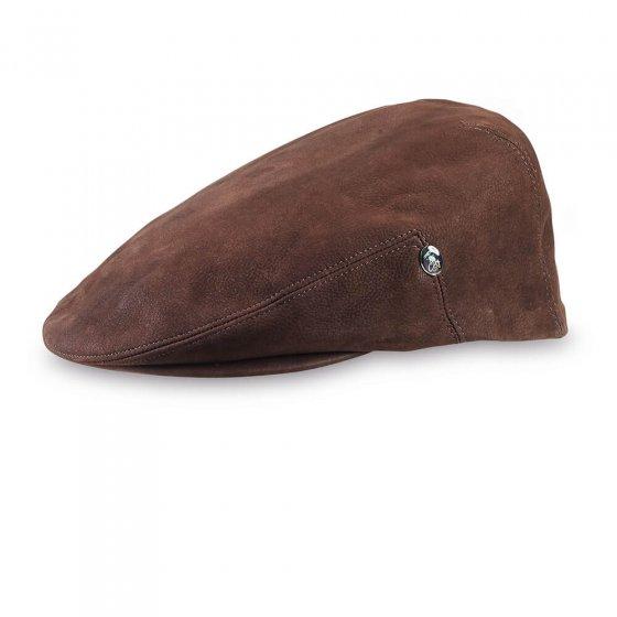 Leder-Mütze