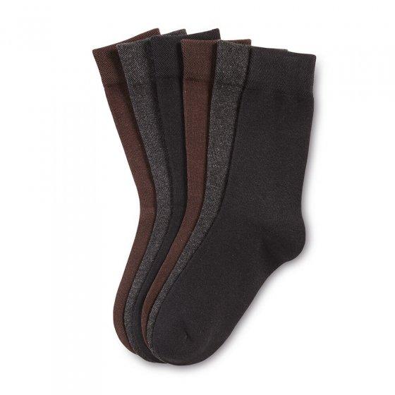 Venenfreundliche Socken 6er-Pack 39/42 | Sortiert