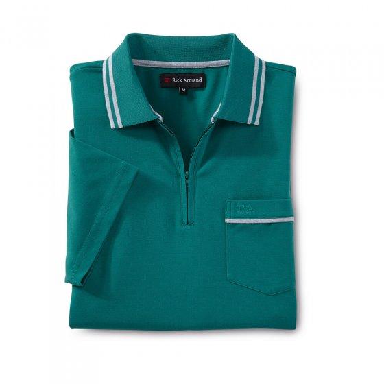 Poloshirt mit Zipperkragen