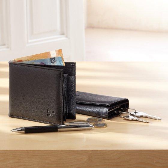 Portemonnaie mit Schlüsseletui und Kugelschreiber